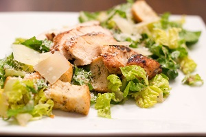 Classic Grilled Chicken Caesar