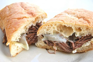 Toasty French Dip <br />