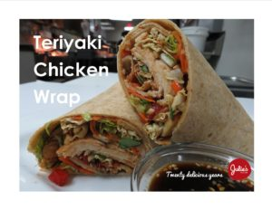 Chicken Teriyaki Wrap<br />